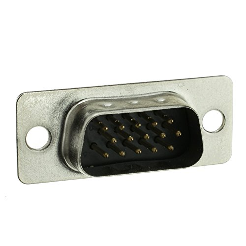 (CableWholesale HD15 VGA Male Solder Type Connector 15C (3530-11115))