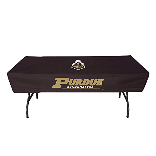 Rivalry Sports College Team Logo Purdue 6 Foot Table Cover