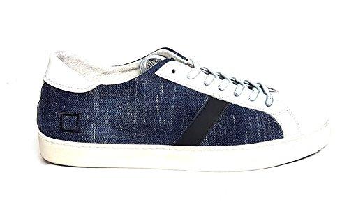 D.a.t.e. Herren Sneaker Blau Denim Dark