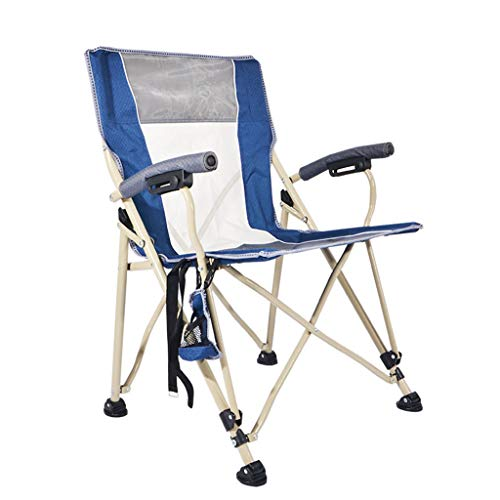 YAXIAO-Folding chair Outdoor Folding Chair Portable Beach Chairs Outdoor Fishing Sketch Director Armchair (60 62 89cm)