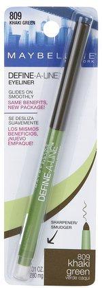 Maybelline Define-A-Line Eyeliner - Khaki Green