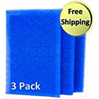 3 Dynamic Air Cleaner Replacement Filters (B) 14x20