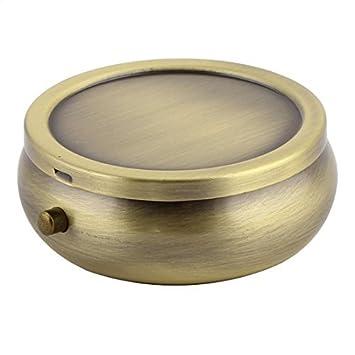 eDealMax Ronda de Metal en Forma de cuadrícula de humedad 3 Medicina Titular de la píldora