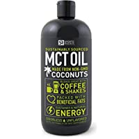 SportsResearch 100% Pure & Premium MCT Oil 32oz