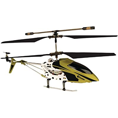 Swann Micro Lightning Black/Gold Light and Fast Helicopter