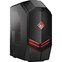 HP OMEN 880 Ultra Performance VR Ready 750W Platinum Desktop PC (Intel i7-7700K Liquid Cooled CPU, Dual NVIDIA GeForce GTX 1080 SLI, Windows 10 Pro, 512GB PCIe SSD, 2TB 7200RPM HDD, 32GB DDR4 RAM)
