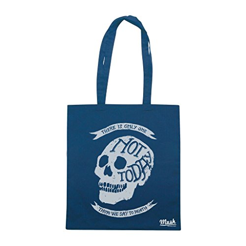 Borsa NOT TO DAY DEATH - Blu navy - FILM by Mush Dress Your Style