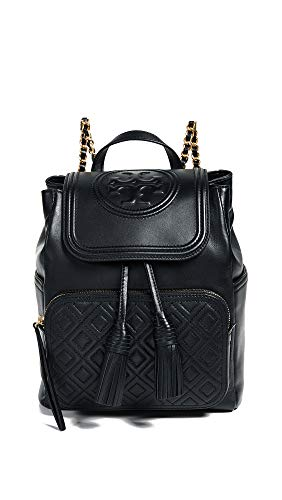Size Burch Tory Black One Backpack Women's Fleming Black YFdqwF