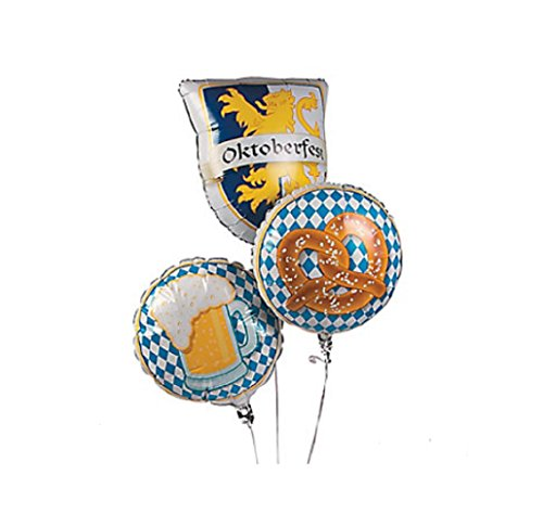 Oktoberfest Mylar Balloon Set (Set of 3) for $<!--$7.00-->