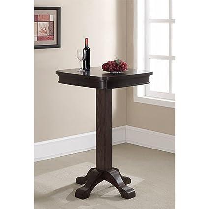 Amazoncom American Heritage RB Sarsetta Series Pub Table - Square pedestal pub table
