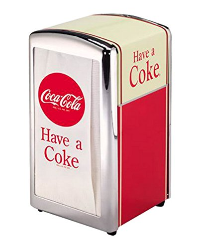 TableCraft Coca-Cola CC301 Have A Coke Napkin Dispenser