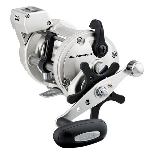 Plus Line Counter Reel - Daiwa Accudepth Plus-B Line Counter 6.1:1 Casting Reel w/ Power Handle - ADP57LCB