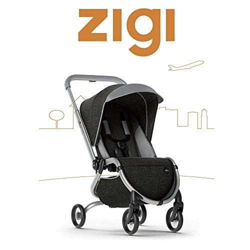 Mima Zigi Travel Stroller Charcoal