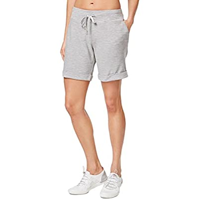 Calvin Klein Performance Womens French Terry Cuffed Shorts