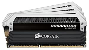 Corsair Dominator Platinum 32GB (4x8GB)  DDR3 1866 MHz (PC3 15000) Desktop Memory