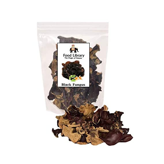 Food Library The Magic of Nature Dried Mushrooms (Black Fungus, 100g)