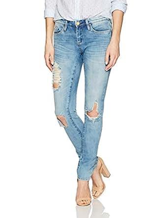 BLANKNYC Women's Skinny Classique Jean,Blue,24