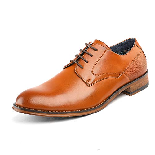 Bruno Marc Men's Dress Shoes Formal Oxford Paul_2 Brown Size 12 M US