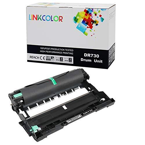 Linkcolor Compatible DR760 DR730 Drum Unit Replacement for Brother DR-730 DR-760 Drum Unit for Brother HL-L2370DW HL-L2350DW HL-L2390DW HL-L2395DW HL-L2370DWXL Printer, Black 1-Pack