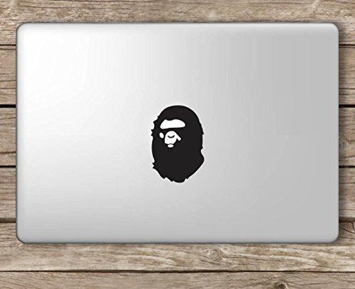 finest selection 3336b 01605 Amazon.com: Bape Ape - Apple Macbook Laptop Vinyl Sticker Decal, Die ...