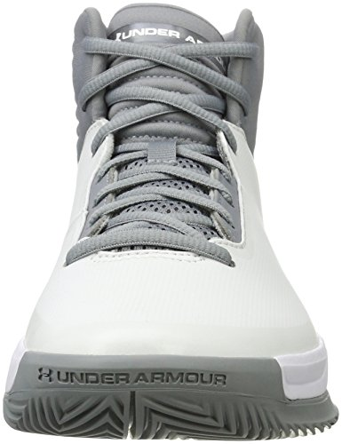 100 Basketball Blanc Armour Chaussures Ua 2 De white Under Lockdown Homme WBc7a6Wq
