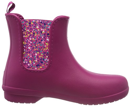 Donna Fsailchelseabtw di Crocs Gomma Berry Stivali Dots Rosa xPn6p1q
