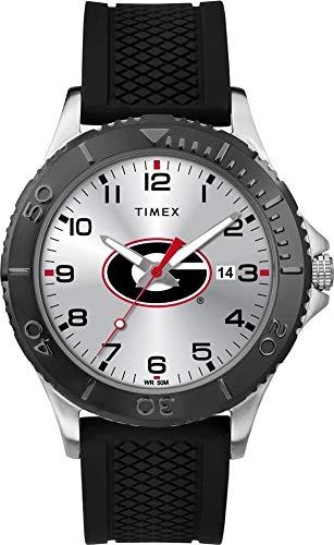 Timex Men's Georgia Bulldogs UGA Gamer Watch Silicone Watch