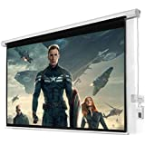 """100"""" 16:9 HD Foldable Electric Motorized Projector Screen + Remote"""