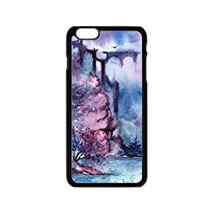 Colorful abstract mountain landscape Phone Case for iPhone 6 by icecream design