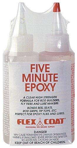 Tip Flex Fly Rod (Q8 Flex Coat 8 oz. Five Minute Epoxy Glue - Yorker Cap.)