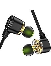 Auriculares inalámbricos ESR con Controladores duales, Auriculares Bluetooth Ligeros, Sonido HD con micrófono, Auriculares Deportivos de Ajuste Seguro para Correr y Entrenar