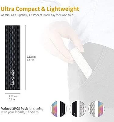 Luxtude Mini Cargador Portatil para movil 3350mAh, 2 PCS Mini Powerbank, Cargadores Portatiles para Moviles pequeño y Ligero, Bateria Externa Portatil ...