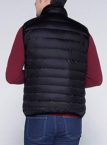 Puffer Vest Jacket AIEOE Coat Gilet Mens Padded Black Warm Soft Ultralight Down Winter xwaAZCq