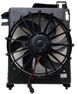 AC A/C CONDENSER COOLING FAN FOR DG FITS RAM TRUCK 1500 2500 3500 CH3113103 (Dodge Condenser 1500 Ram A/c)