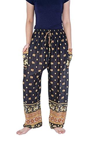 Drawstring Harem Pants - 4
