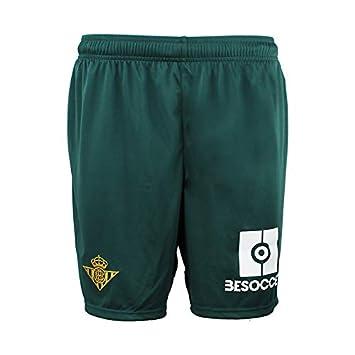 Pantalón corto Réplica 1ª equipación - Real Betis Balompié 2018 2019 - Kappa  Kombat Replica Short - Niño  Amazon.es  Deportes y aire libre 7422320b221c2