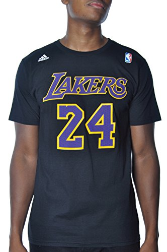 Kobe Bryant Los Angeles Lakers Black / Purple Jersey Name and Number T-shirt (Lakers Kobe Bryant Jersey)