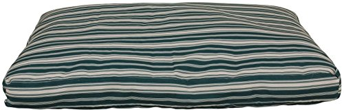 Cpc Jamison Indoor/Outdoor Striped Bed for Pets, 48-Inch, Green