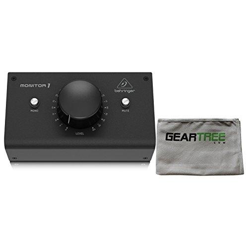 Behringer MONITOR1 Monitor estéreo pasivo premium con tela Geartree
