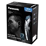 Panasonic ER-GC71 Men's Beard Trimmer, Cordless/Corded Operation with 2 Comb Attachments and and 39 Adjustable Trim Settings, Washable
