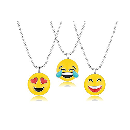 Emoji Stud Earrings 18K Gold Plated Assorted Smiley Emoticon Ear Rings