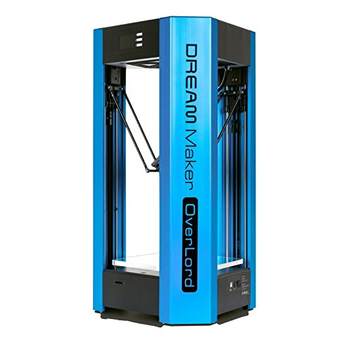 Overlord - A Multicolor Delta 3D Printer w/ Auto Leveling & Pause/Resume Function (Blue) DFRobot Printers