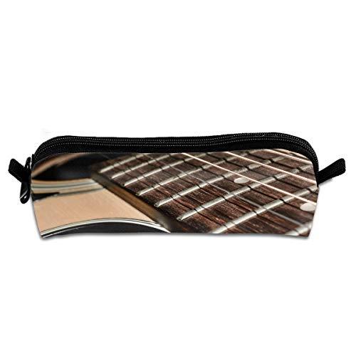 EWFBVa Durable Zipper Stationery Bag Musical Instruments Big Capacity Pencil Case
