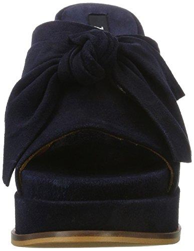 Zinda 2856, Bout Ouvert Femme Bleu (Navy 000)