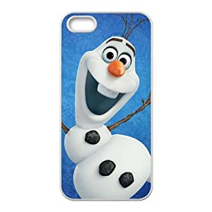 Happy Frozen Olaf Cell Phone Case for Iphone 5s
