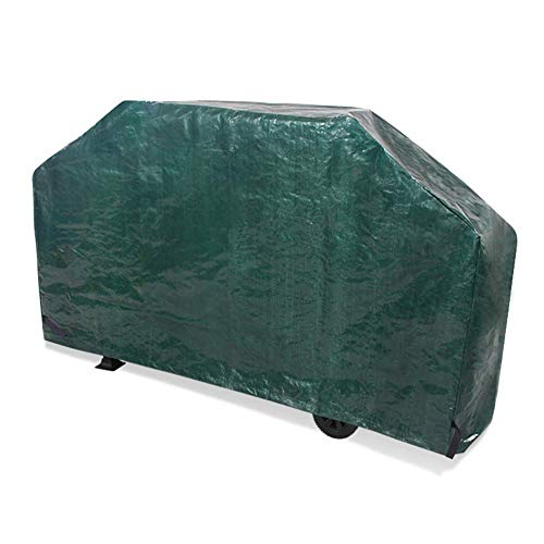 ATR Rattan Garden Cover Set for Garden Barbecue Cover Blanket Dust and Dust Resistant Fabric Oven Waterproof Anti-UV Sunscreen Customizable Size, 3 Colors (Color: Green, Size: 121x60x162cm) (B&ms Furniture Garden)