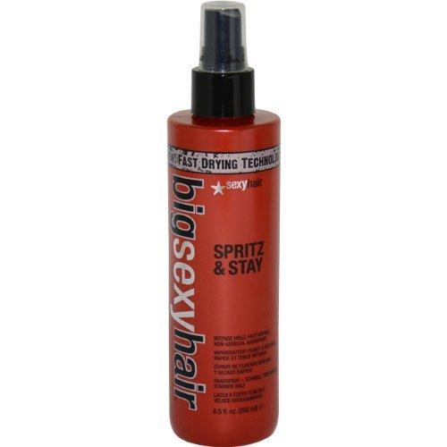 Big Sexy Hair Spritz & Stay Hair Spray Sexy Hair Hair Spray Unisex 8.5 oz (Pack of 7) by Sexy Hair