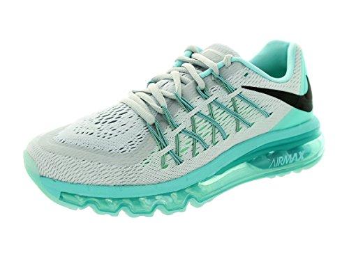 Blk Max Aq Nike 2015 Wmns sportive Glw Scarpe Grn Lght Donna Pr Air Pltnm 4Ewp6qEz