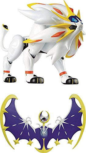 Pokemon Legendary Figure Assortment Set of 2- Lunala and Solgaleo