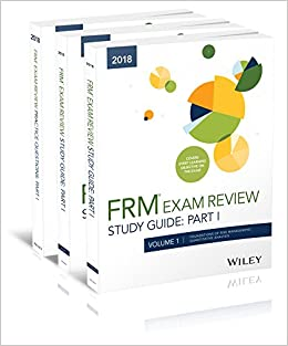 Buy Wiley 2018 Part I FRM Exam Study Guide & Practice Question Pack